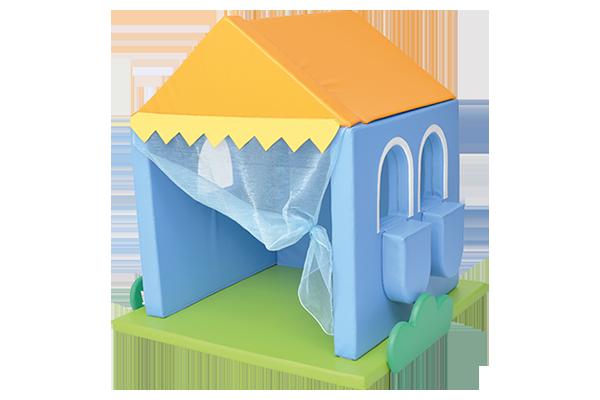 bezpieczny piankowy domek dla dzieci