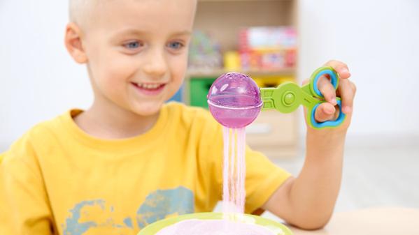 Zajęcia integracji sensorycznej. Stymulacja zmysłu wzroku