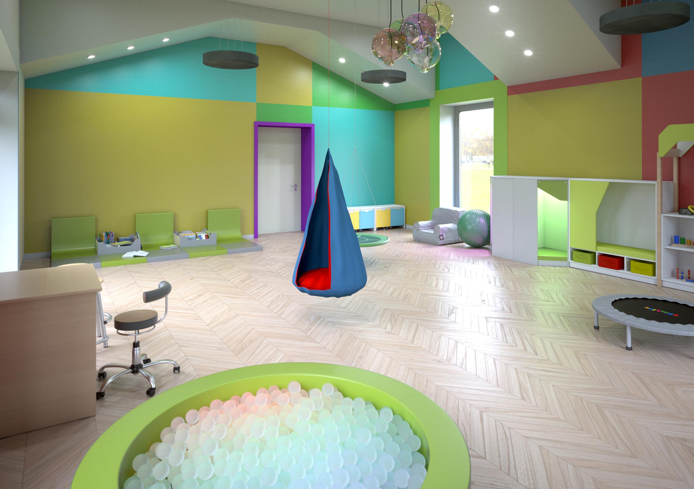 Sala relaksacyjna da dzieci ze specjalnymi potrzebami edukacyjnymi