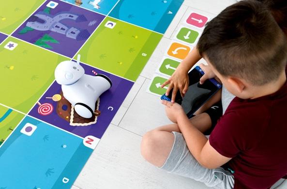 Zajęcia w przedszkolu z robotem edukacyjnym Photon