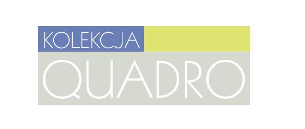 Logotyp strony internetowej kolekcji meblowej Quadro