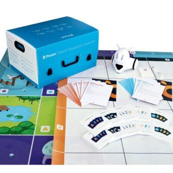 Robot edukacyjny Photon z Pakietem do pracy z dziećmi ze specjalnymi potrzebami edukacyjnymi