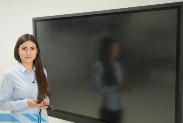 Praca z monitorem interaktywnym z dziećmi ze specjalnymi potrzebami edukacyjnymi